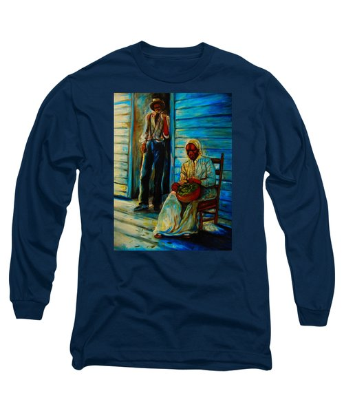 My Mom Long Sleeve T-Shirt by Emery Franklin
