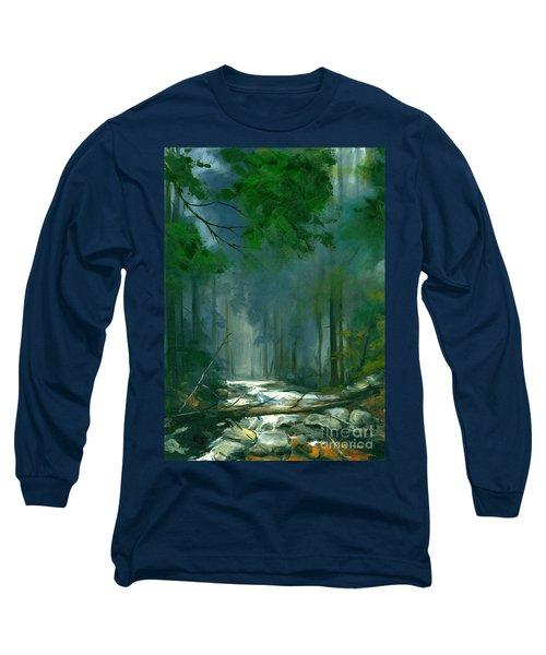 My Secret Place II Long Sleeve T-Shirt by Michael Swanson