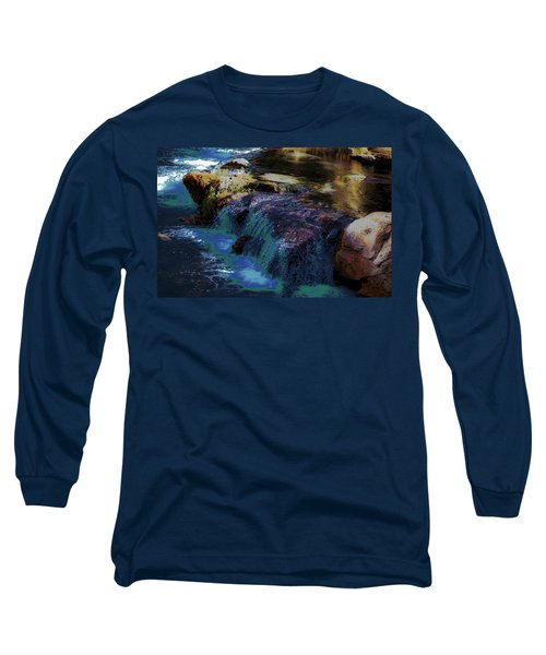Mystical Springs Long Sleeve T-Shirt by DigiArt Diaries by Vicky B Fuller