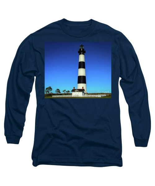 Nags Head Lighthouse Long Sleeve T-Shirt