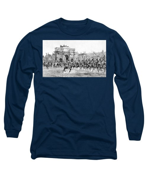 Napoleon Reviewing His Troops Long Sleeve T-Shirt