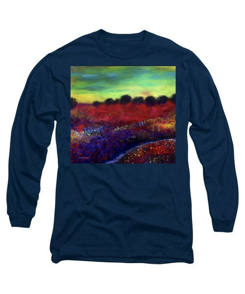 Natures Bouquet Long Sleeve T-Shirt by Dick Bourgault