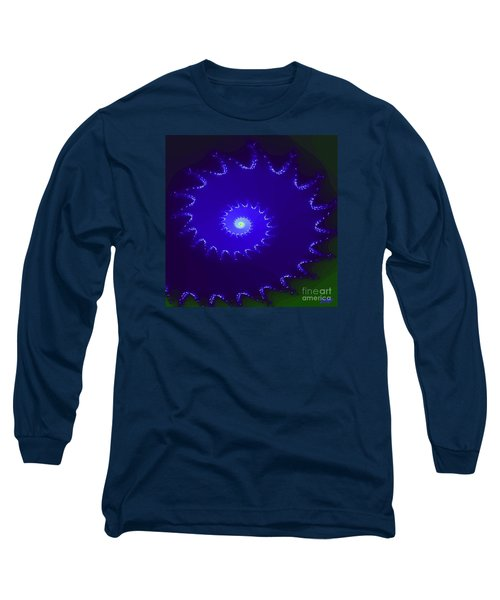 Long Sleeve T-Shirt featuring the digital art Nautilus by Dragica  Micki Fortuna