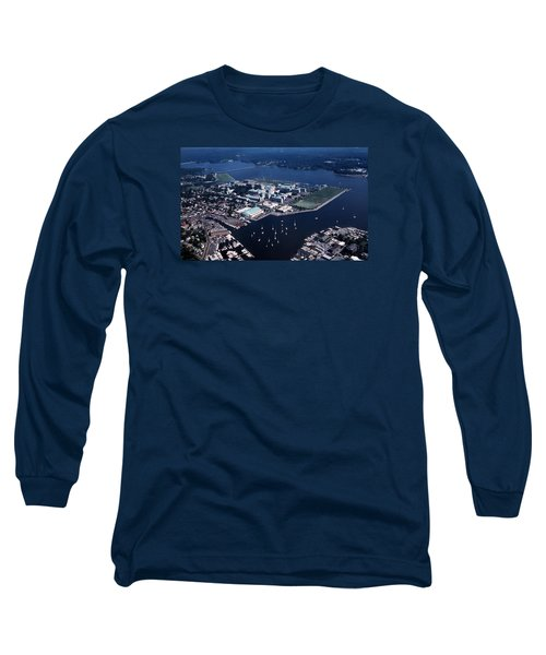 Naval Academy Long Sleeve T-Shirt by Skip Willits