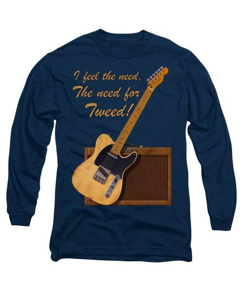 Need For Tweed Tele T Shirt Long Sleeve T-Shirt