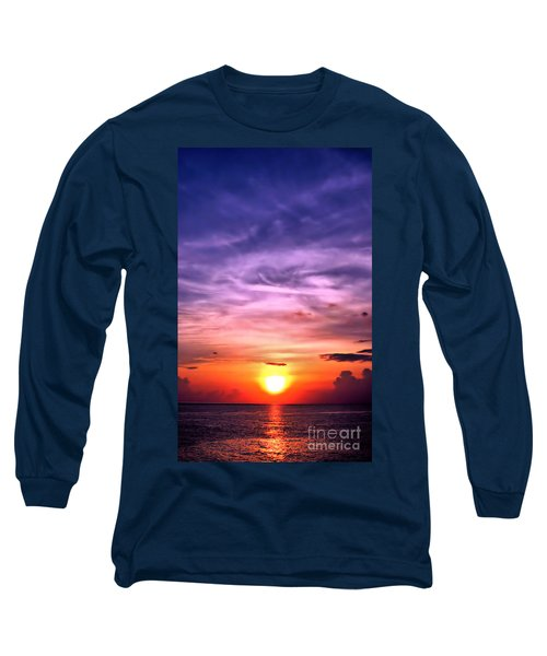 Negril Sunset Long Sleeve T-Shirt