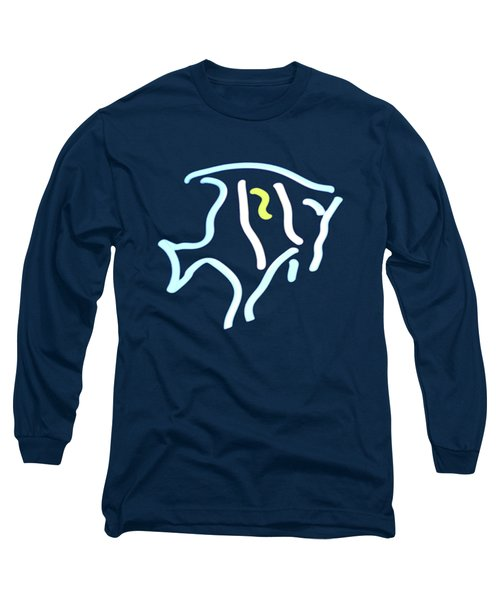 Neon Fish Long Sleeve T-Shirt