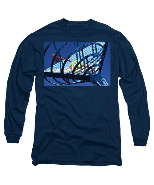 Neon Martini. Long Sleeve T-Shirt