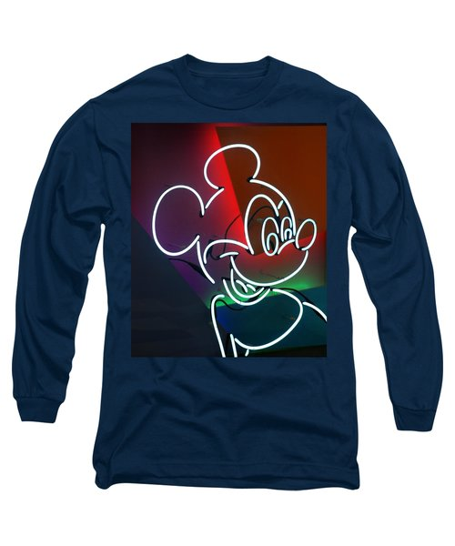 Neon Mickey Long Sleeve T-Shirt