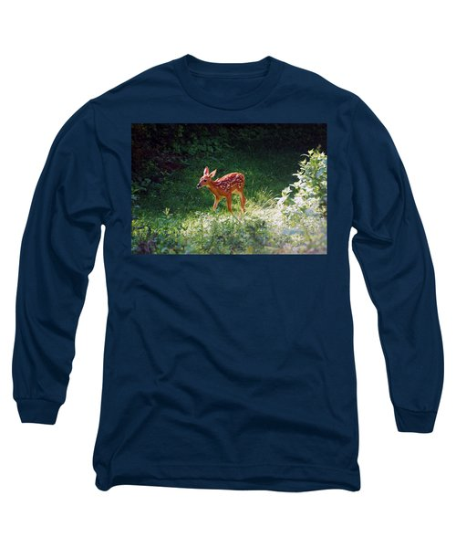 New Backyard Visitor Long Sleeve T-Shirt