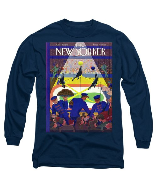 New Yorker April 19 1941 Long Sleeve T-Shirt
