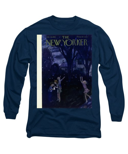New Yorker July 30 1955 Long Sleeve T-Shirt