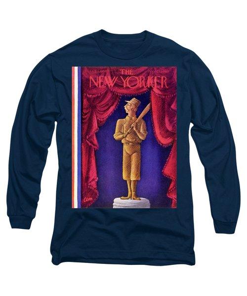 New Yorker October 2 1954 Long Sleeve T-Shirt