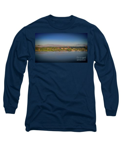 Newburgh, Ny From The Hudson River Long Sleeve T-Shirt