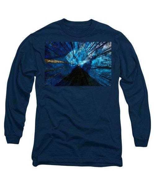 Night Angel Long Sleeve T-Shirt by David Lee Thompson