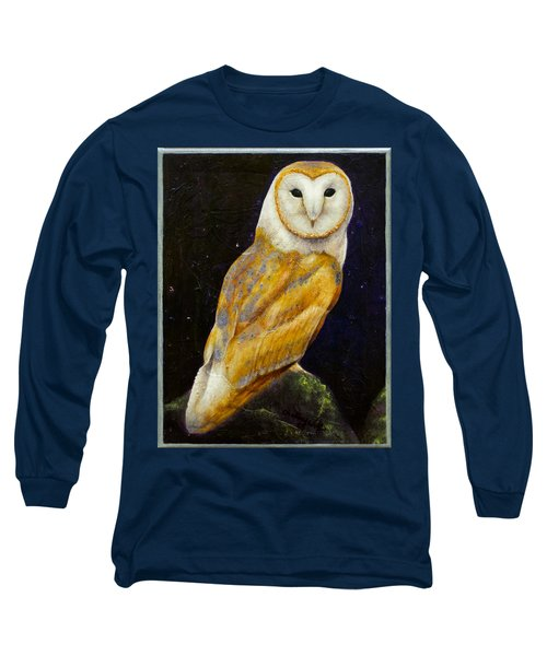 Night Eyes Long Sleeve T-Shirt