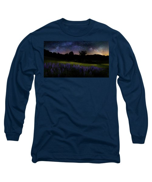 Long Sleeve T-Shirt featuring the photograph Night Flowers by Bill Wakeley