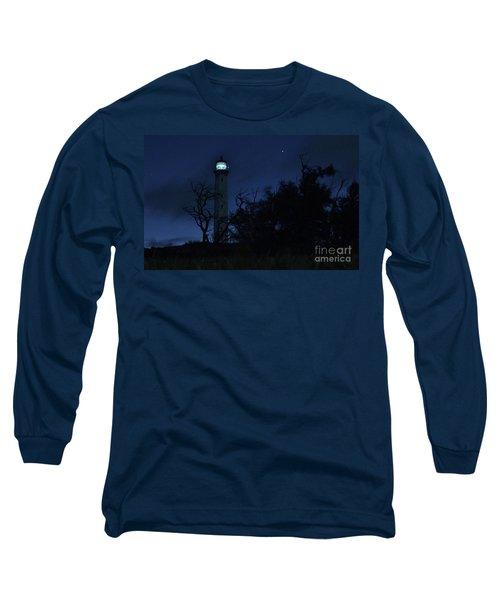 Long Sleeve T-Shirt featuring the photograph Night Light Kalaupapa by Craig Wood