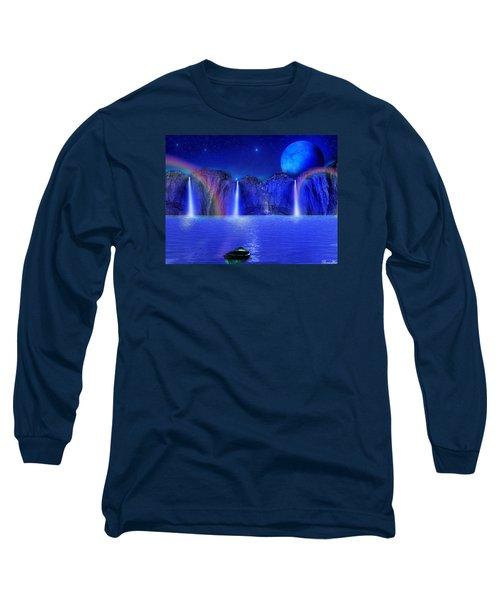 Long Sleeve T-Shirt featuring the photograph Nightdreams by Bernd Hau