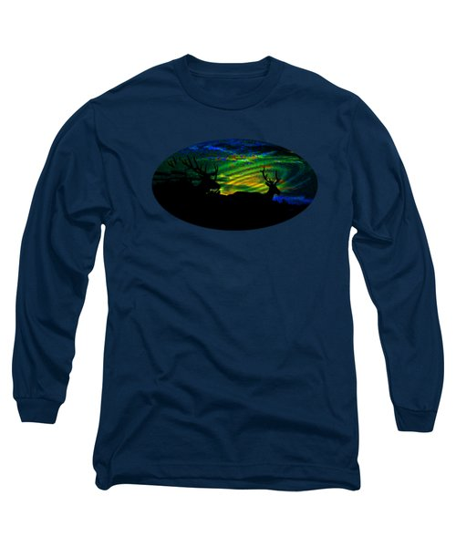 Nightwatch Long Sleeve T-Shirt by Mike Breau