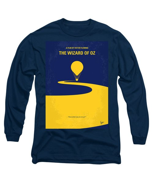 No177 My Wizard Of Oz Minimal Movie Poster Long Sleeve T-Shirt