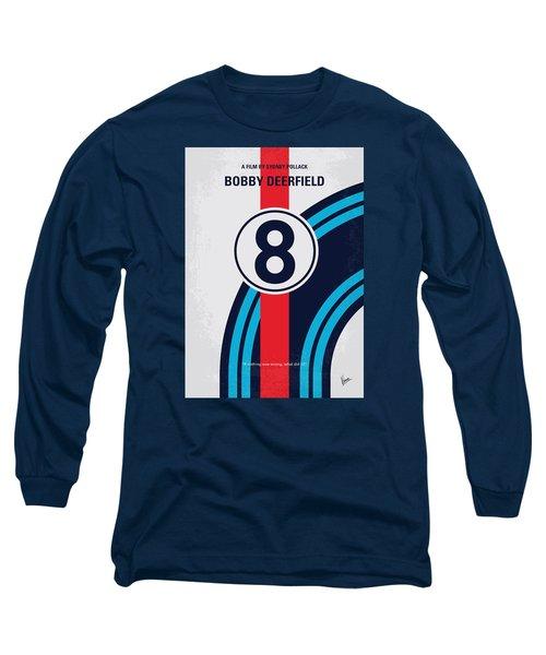 No565 My Bobby Deerfield Minimal Movie Poster Long Sleeve T-Shirt