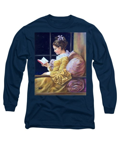 Nocturne Inspired By Fragonard Long Sleeve T-Shirt
