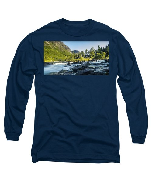 Norway II Long Sleeve T-Shirt by Thomas M Pikolin