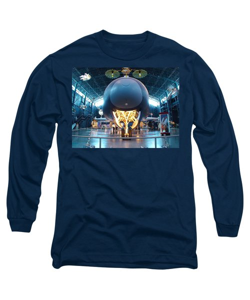 Long Sleeve T-Shirt featuring the photograph Nose Down - Enterprise by Charles Kraus