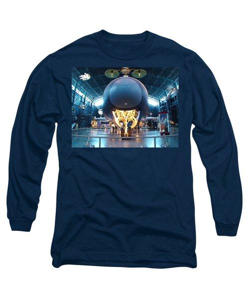 Nose Down - Enterprise Long Sleeve T-Shirt