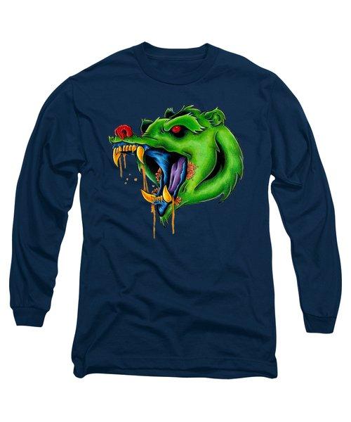 Not Yo Mama's Gummy Bear Long Sleeve T-Shirt by Vicki Von Doom