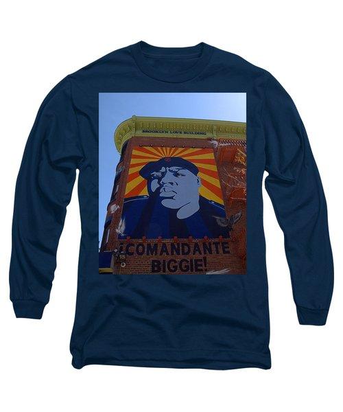 Notorious B.i.g. I I Long Sleeve T-Shirt by  Newwwman
