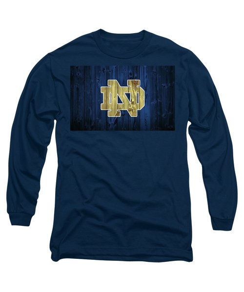 Notre Dame Barn Door Long Sleeve T-Shirt