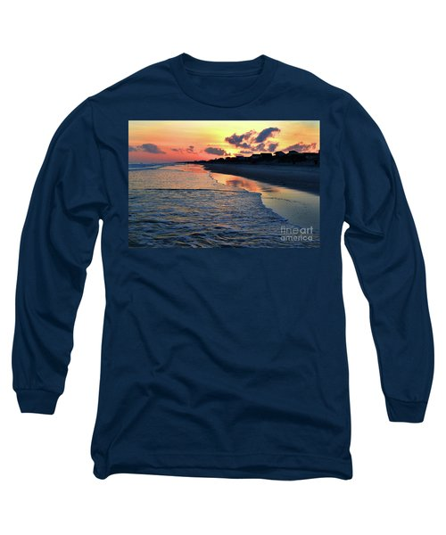 Oak Island Pastel Sunset Long Sleeve T-Shirt