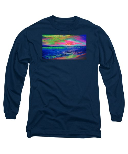 Ocean Sunset 2 Long Sleeve T-Shirt