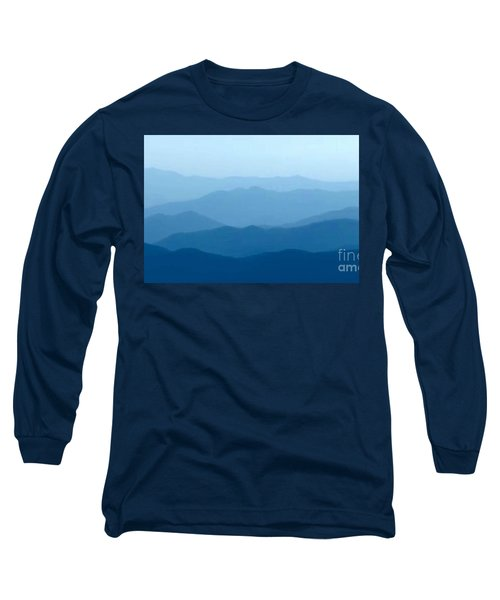 Ocean Waves Long Sleeve T-Shirt by Anthony Fishburne