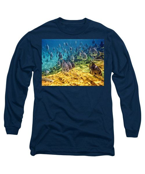 Oceans Below Long Sleeve T-Shirt