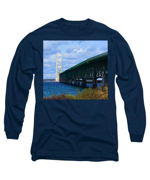 October At The Straits Of Mackinac Long Sleeve T-Shirt