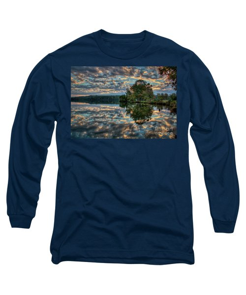 Long Sleeve T-Shirt featuring the photograph October Skies by Douglas Stucky