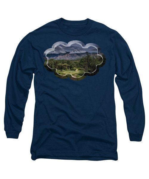 Odyssey Into Clouds Long Sleeve T-Shirt by Mark Myhaver