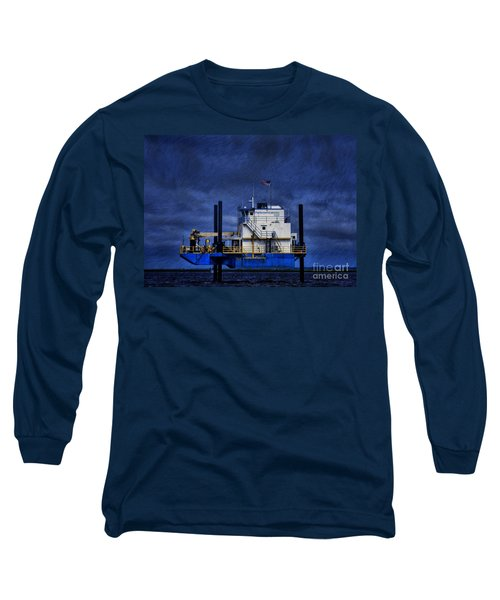Oil Rig Long Sleeve T-Shirt