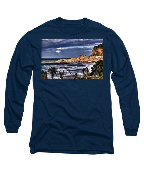 Old Coastal City  Long Sleeve T-Shirt