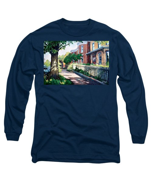 Old Iron Porch Long Sleeve T-Shirt