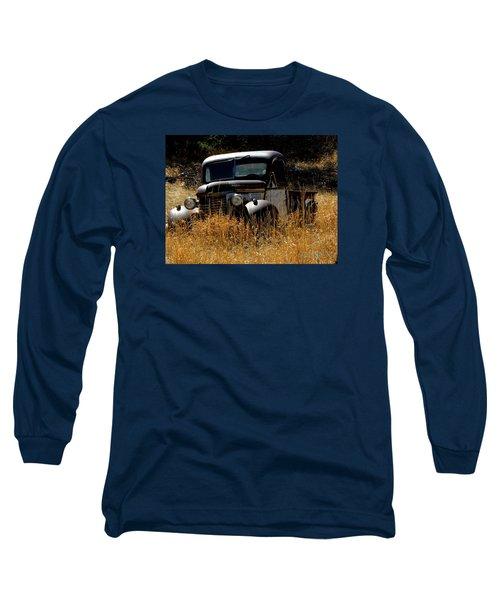 Old Pickup Truck Long Sleeve T-Shirt