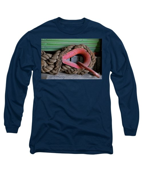 Old Rope And Shackle Long Sleeve T-Shirt