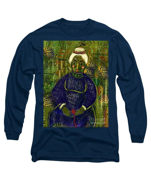 Old Storyteller Long Sleeve T-Shirt by Alexis Rotella