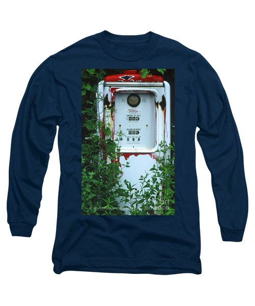 6g1 Old Tokheim Gas Pump Long Sleeve T-Shirt