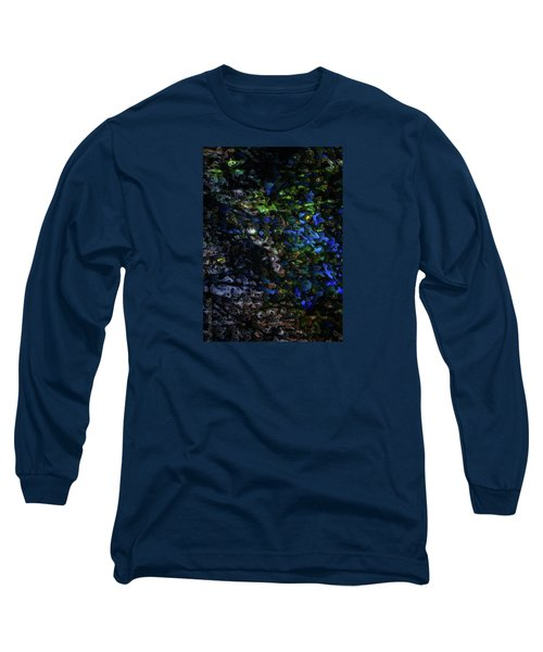 Long Sleeve T-Shirt featuring the digital art On A Cold Winter Night by Mimulux patricia no No