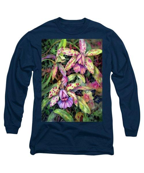 Orchid Garden I Long Sleeve T-Shirt