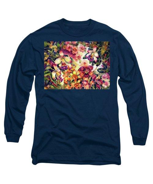 Orchid Garden II Long Sleeve T-Shirt